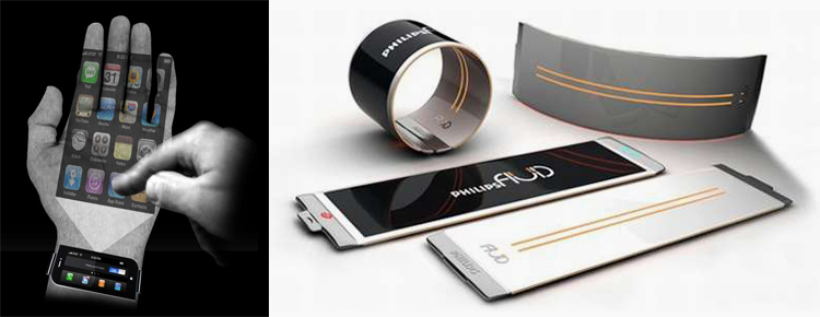 Futuristic phone concepts